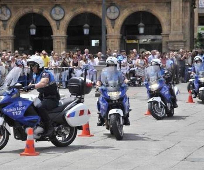 POLICÍA LOCAL: OFERTAS DE EMPLEO AÑO 2019: OFERTA FORMATIVA de Academia Darwin