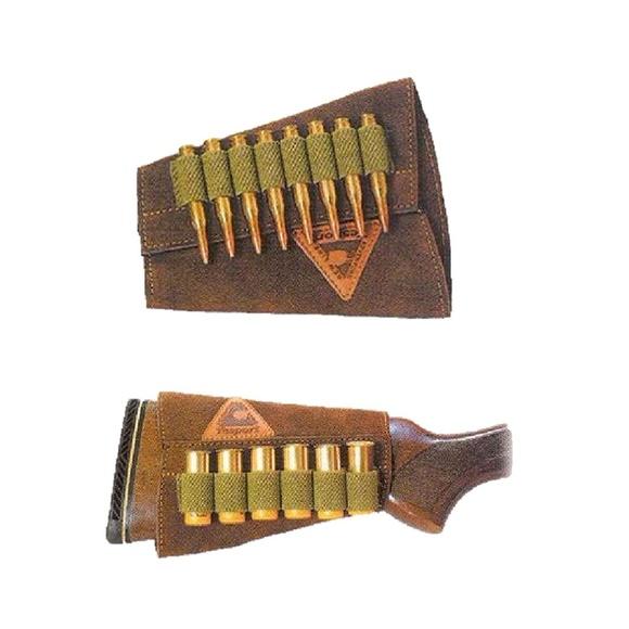 Carrillera para balas o cartuchos acoplable a culata de rife o escopeta: Tienda online de Artículos de Caza