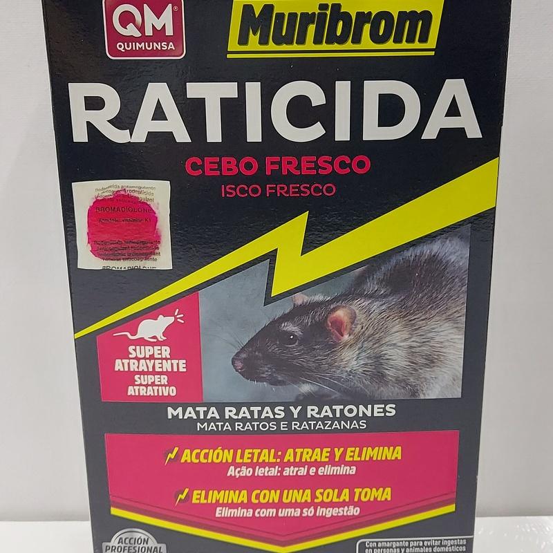 Raticida cebo fresco: Productos de Droguería Subirats