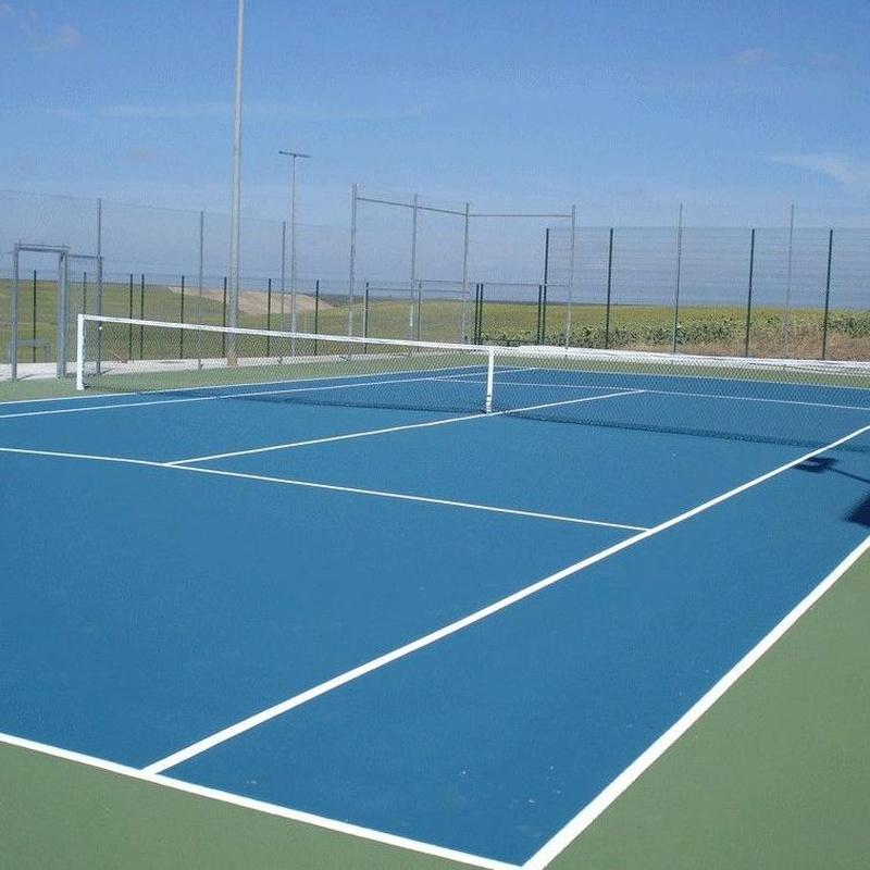 Pistas deportivas: Servicios y Materiales de Imperval