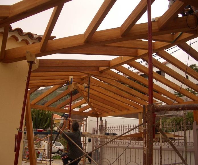 LAs Mejores Cubiertas de madera a Medida de Canarias