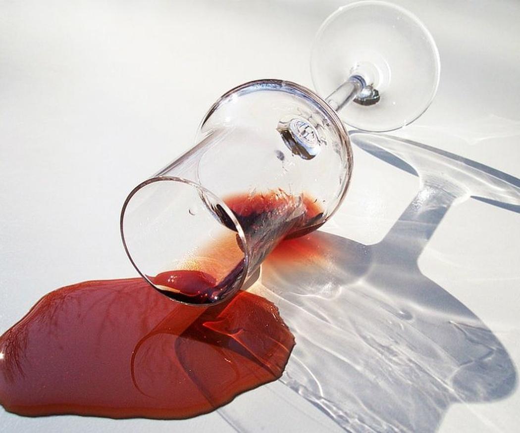 Las manchas de vino