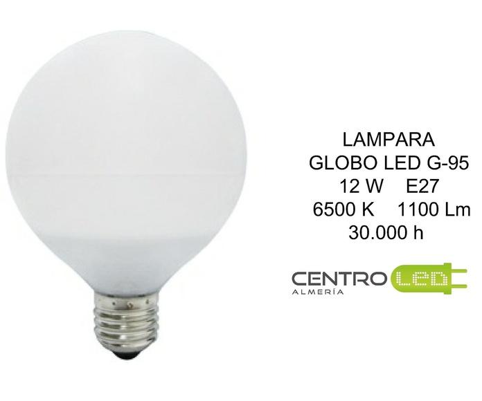 LAMPARA GLOBO 12W