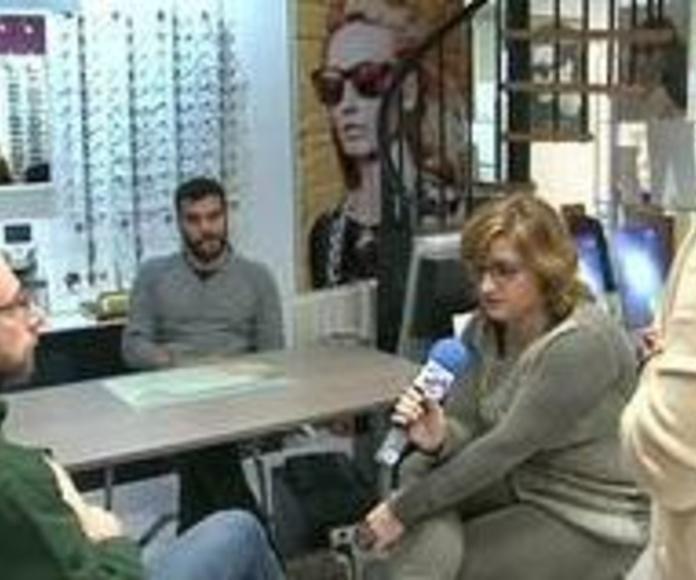 El programa 10, una mesa redonda sobre la optometria.