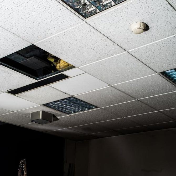 Las posibilidades y funciones de los falsos techos