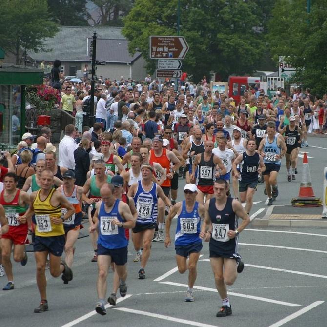Dietas para una maratón