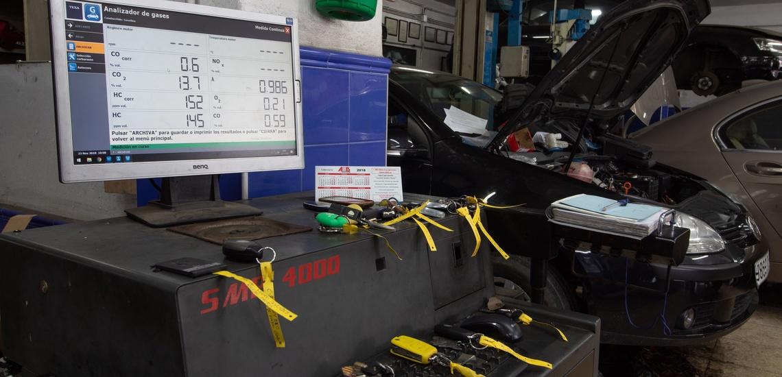 Taller de electromecánica del automóvil en Algeciras