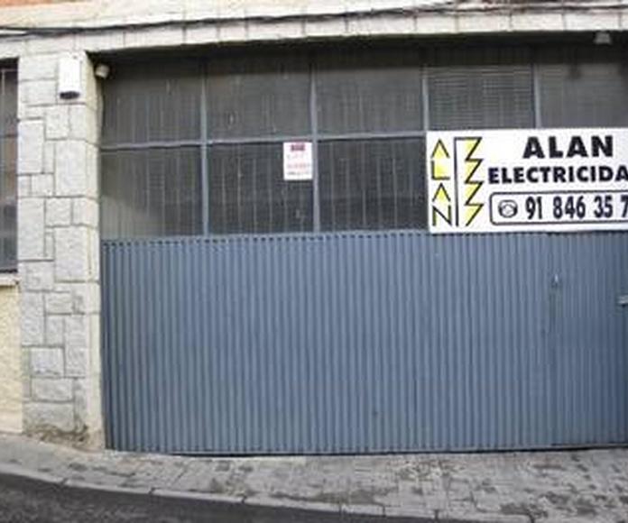 Servicios: Servicios de Alan Electricidad, S.L.