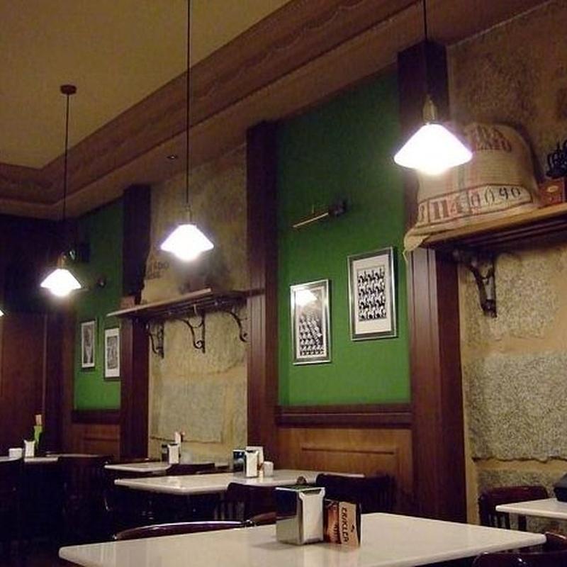 Comidas y cenas: Carta y Menú  de Cafetería Montesa