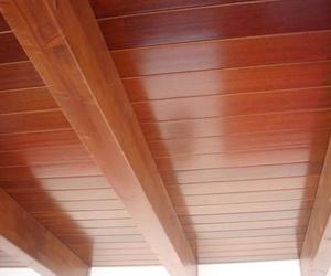 Revestimientos de techos en madera