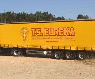 Servicios: Servicios y valor añadido de Ts Eureka, S.L