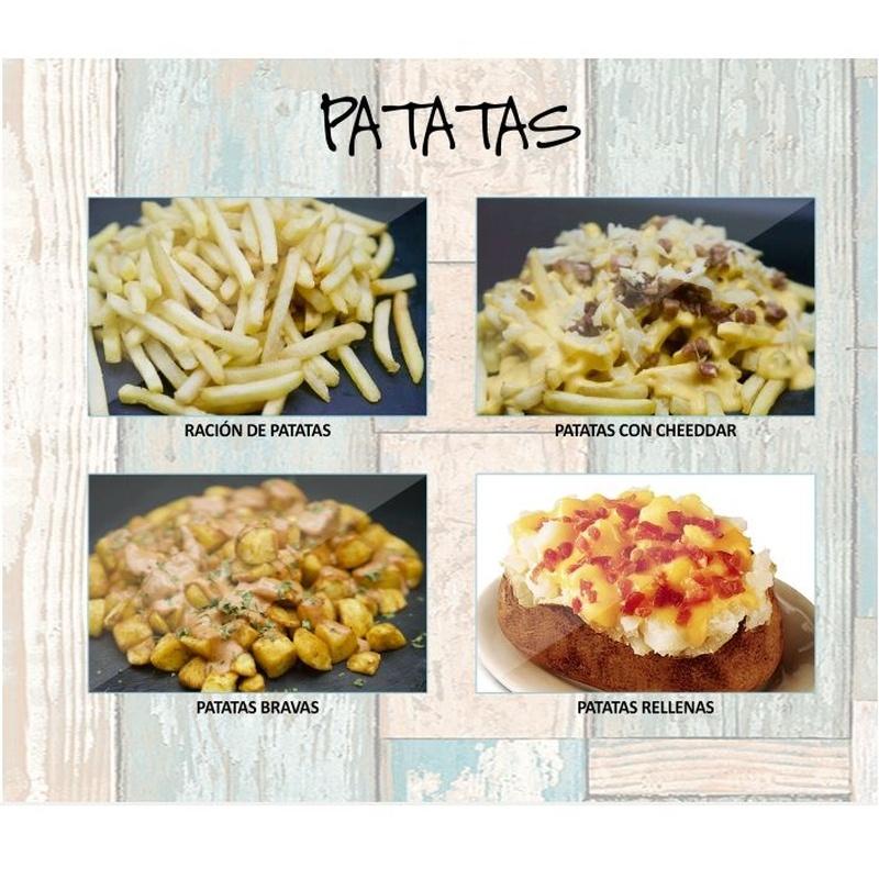Patatas: Carta de Restaurante Pal-buche