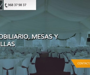 Alquiler de mobiliario en Murcia