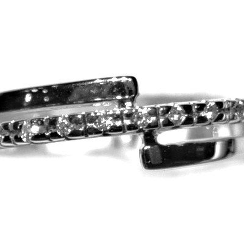 Sortija Compromiso Diamantes Oro Blanco