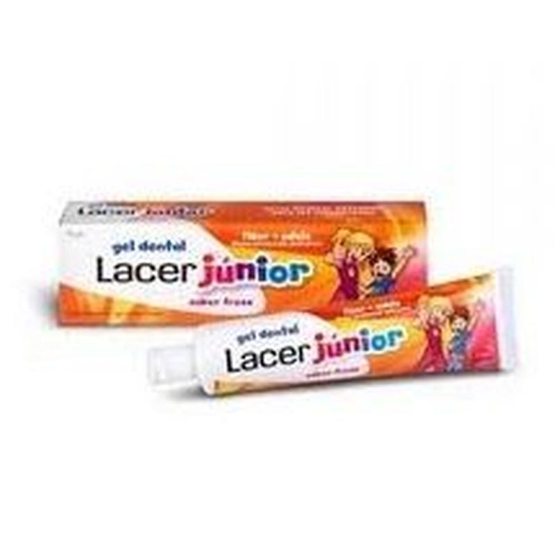 Gel dental lacer junior (fresa o menta): Catálogo de Farmacia Las Cuevas-Mª Carmen Leyes