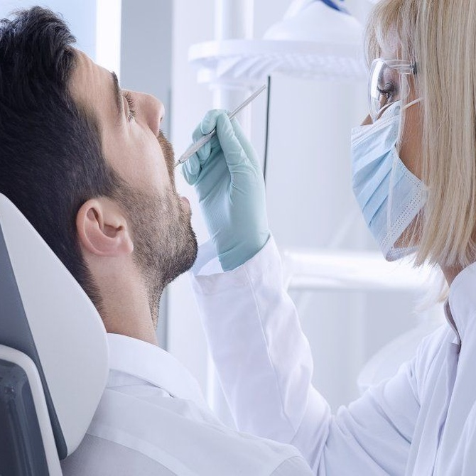 Evita un problema periodontal