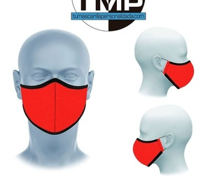 Mascarillas higiénicas reutilizables polipropileno+tejido certificado LISAS