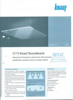 Knauf Sondboard