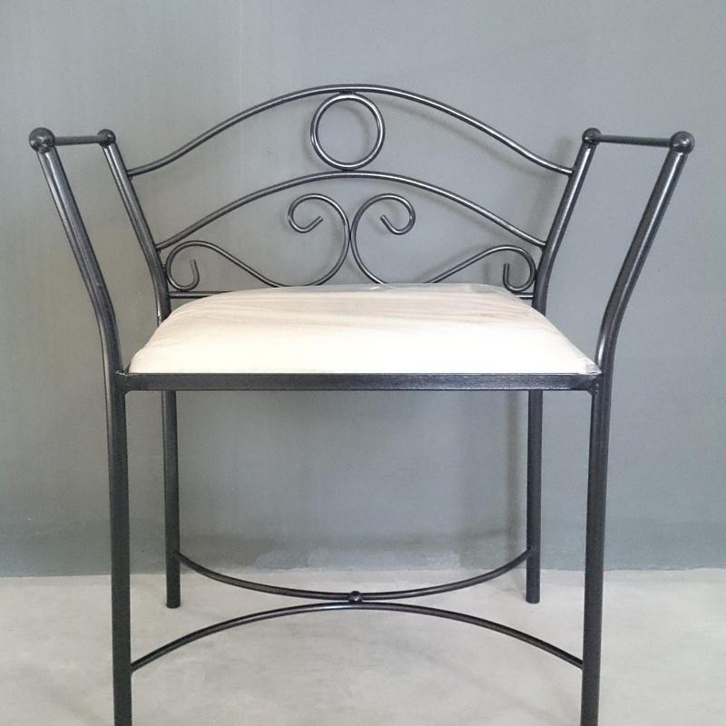 Banqueta Toledo: Catálogo de muebles de forja de Forja Manuel Jiménez