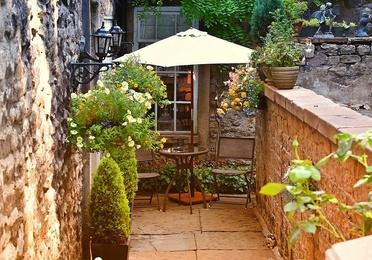 Jardines, áticos y terrazas