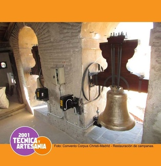 Soldadura de campanas - Campanas de iglesia