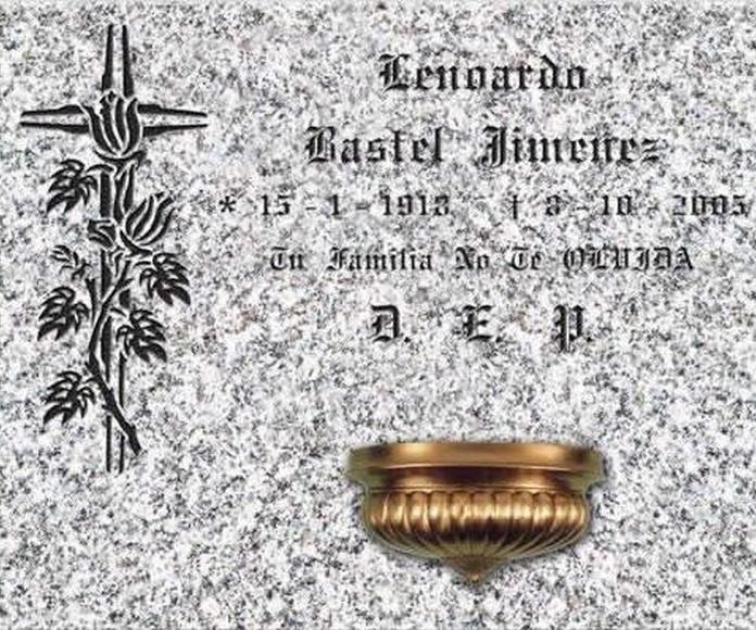 Nichos: Catálogo de N.S.C. Piedra y Mármol