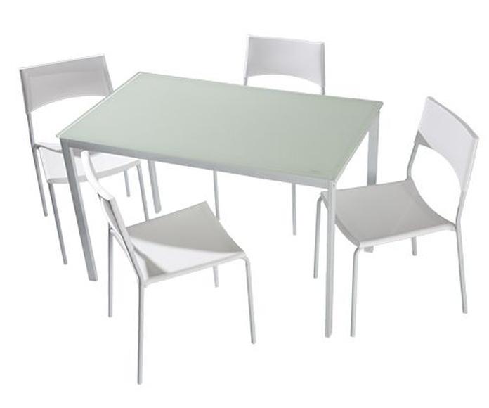 Mesa y sillas modelo Elisa - Pondecor