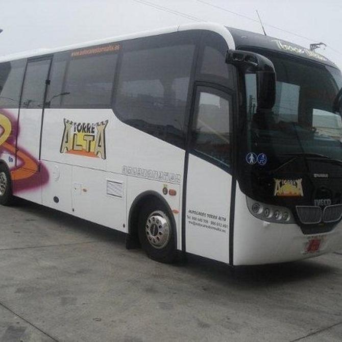 Servicio de autobuses para empresas