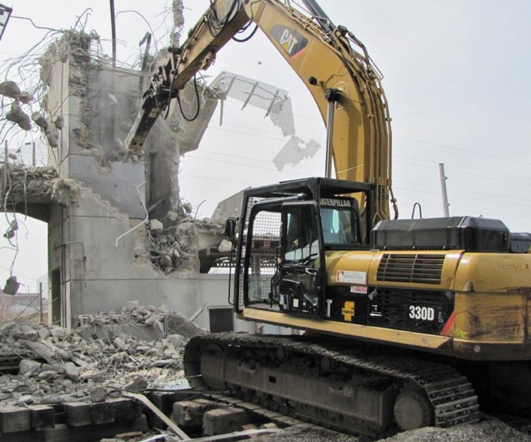 Las demoliciones