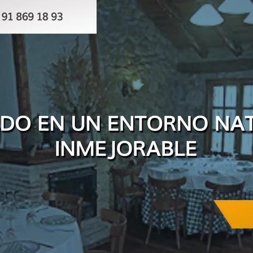 Restaurante asador en sierra de Madrid | Taberna del Alamillo