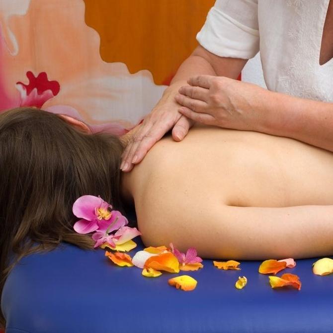 Beneficios del masaje cromático