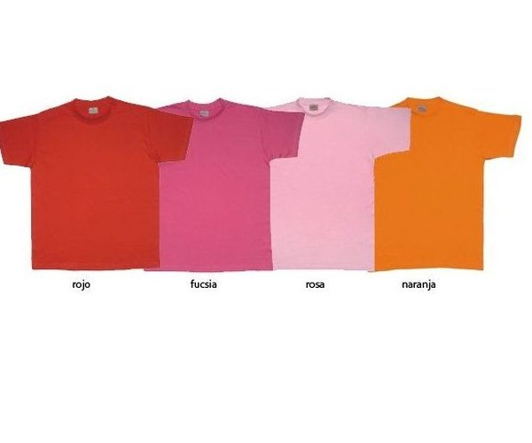 Camisetas variadas