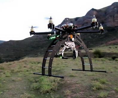 Clases de manejo de drones