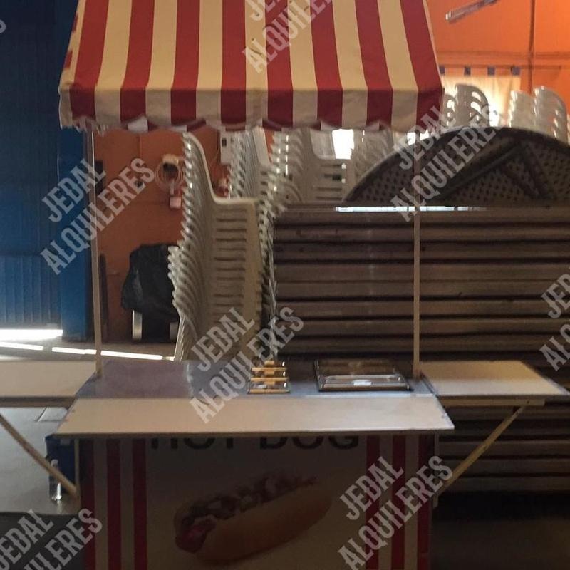 CARRITO HOT DOG: Catálogo de Jedal Alquileres