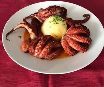 Carnes: Especialidades de Restaurante Terraza Sidrería La Diosa del Mar