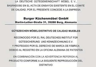 Certificado de Concesión Burger