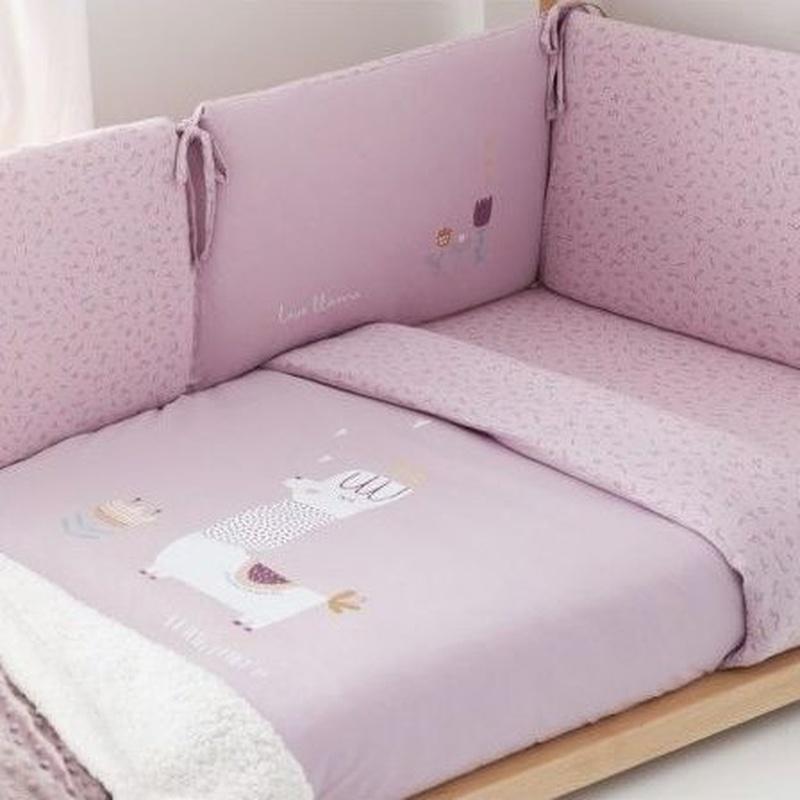 Funda Nordica + Protector Llama Bimbidreams: Productos de Mister Baby