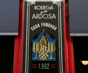 Bodega de la Ardosa desde 1.892 en Madrid centro