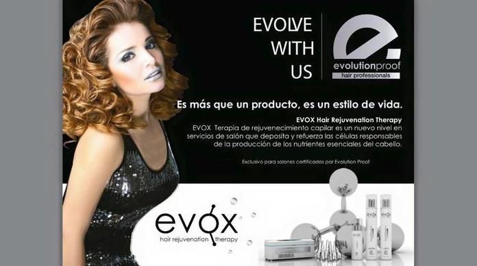 Evox terapia de rejuvenecimiento capilar en Asia peluquería