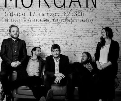 Morgan en Café Teatro Rayuela el próximo 17 de marzo