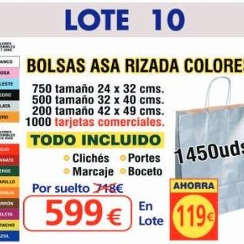 BOLSA ASA RIZADA COLORES 1450UNDS: TIENDA ON LINE de Seriprint