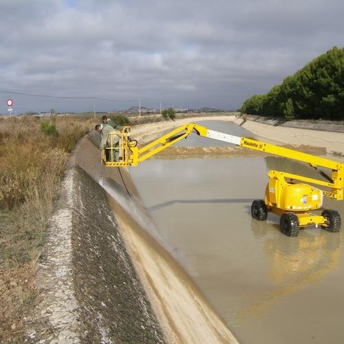 Limpieza de canales