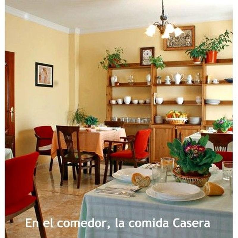 Comedor: Servicios e Instalaciones de Residencia Cristo de la Salud