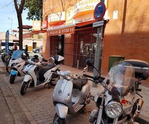 Fachada de nuestra tienda en Sevilla