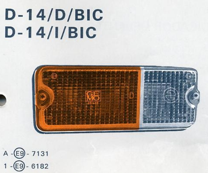 Intermitente Delantero Seat 127 1ª Serie