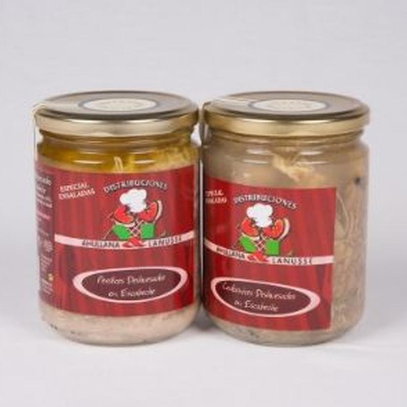 Conservas: Productos de Ahullana & Lanusse