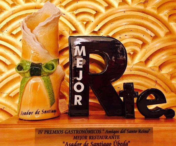 """IV premios gastronómicos """"Amigos del Santo Reino"""""""