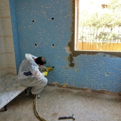 Inyección de poliuretano en camara