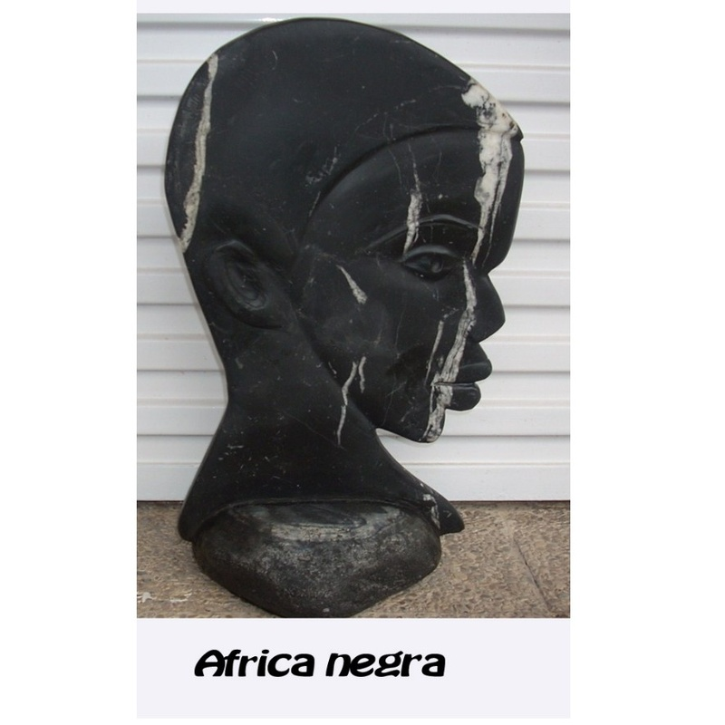 África negra: Esculturas de Antonia Dávalos