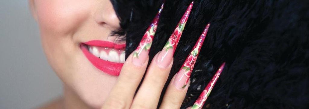 Productos de uñas en el centro de Madrid